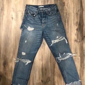 GRLFRND Karolina Butt-Rip Jeans
